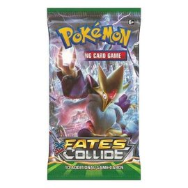 Pokemon International Pokemon XY Fates Collide Booster Pack