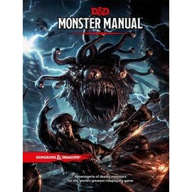 Wizards of the Coast D&D 5th Edition Monster Manual