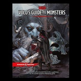 Wizards of the Coast D&D 5th Edition RPG: Volo's Guide to Monsters