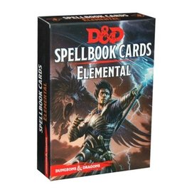 Wizards of the Coast D&D 5th Edition: Spellbook Cards - Elemental