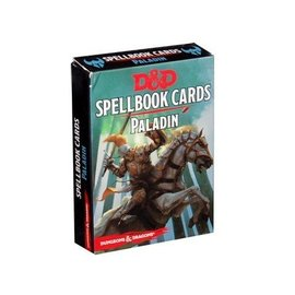 Wizards of the Coast D&D 5th Edition: Spellbook Cards - Paladin