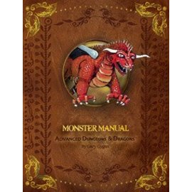 Wizards of the Coast Monster Manual - 1st Edition Premium