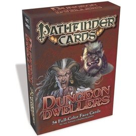 Paizo Pathfinder Cards: Dungeon Dwellers Face Cards