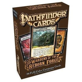 Paizo Pathfinder Campaign Cards: Wardens of the Reborn Forge