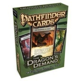 Paizo Pathfinder Cards: The Dragon's Demand Campaign Cards