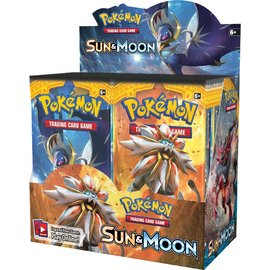 Pokemon International Pokemon Sun & Moon Booster Box