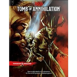 Wizards of the Coast Dungeons and Dragons RPG: Tomb of Annihilation