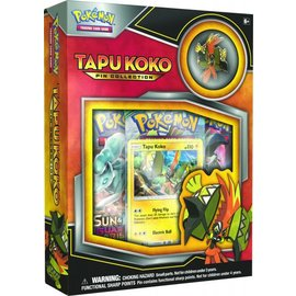 Pokemon International Pokemon: Tapu Koko Pin Collection