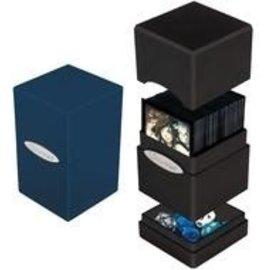 Satin Tower Blue Deck Box