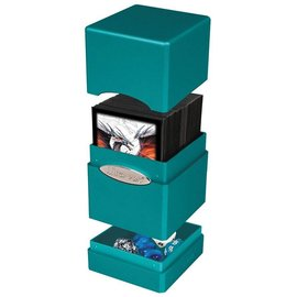 Ultra Pro Satin Tower Metallic Ocean Shimmer Deck Box