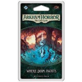 Fantasy Flight Arkham Horror LCG: Where Doom Awaits Mythos Pack