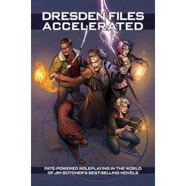 Evil Hat Productions The Dresden Files RPG - Accelerated