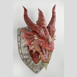 Wiz Kids D&D Red Dragon Trophy Plaque