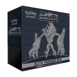 Pokemon International Pokemon Sun and Moon: Burning Shadows Elite Trainer Box