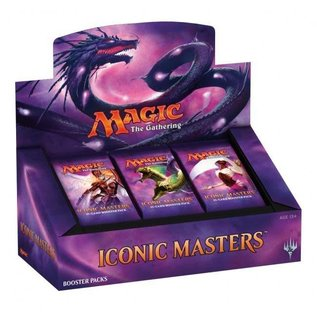 Wizards of the Coast Magic Iconic Masters 2017 Booster Box