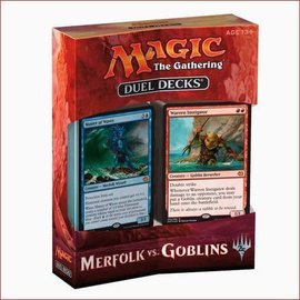 Wizards of the Coast Magic Duel Deck: Merfolk vs. Goblins
