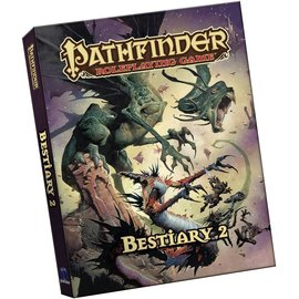 Paizo Pathfinder Bestiary 2 Pocket Edition
