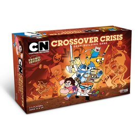 Cryptozoic Cartoon Network Crossover Crisis Deck-Building Game