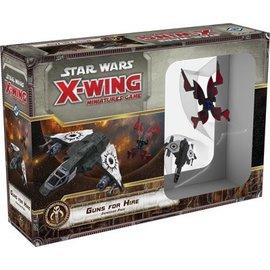 Fantasy Flight Star Wars X-Wing: Guns for Hire
