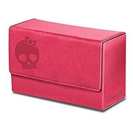 Ultra Pro Dual Flip Deck Box - Pink Skull