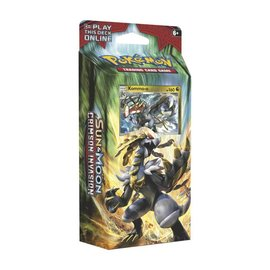 Pokemon International Pokemon Sun & Moon: Crimson Invasion Theme Deck - Clanging Thunder