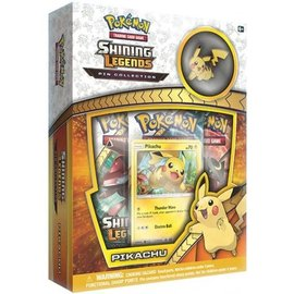 Pokemon International Shining Legends Pin Box - Pikachu