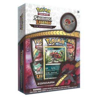 Pokemon International Shining Legends Pin Box - Zoroark