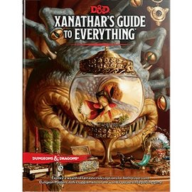 Wizards of the Coast Dungeons and Dragons RPG: Xanathars Guide to Everything