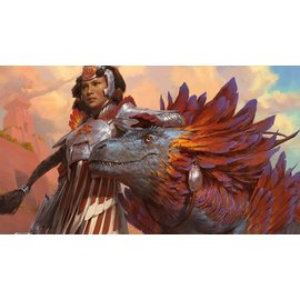 Ultra Pro Magic the Gathering: Ixalan Play Mat - Huatli, Warrior Poet