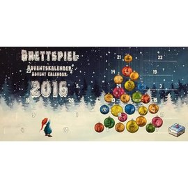 Frosted Games Brettspiel Advent Calendar 2016 - Essen (Compact Version)