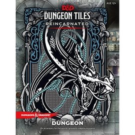 Wizards of the Coast D&D 5th Dungeon Tiles Reincarnated - Dungeon