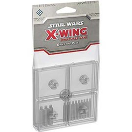 Fantasy Flight Star Wars X-Wing Miniatures Game: Clear Bases and Pegs
