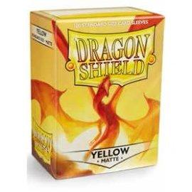 Arcane Tinmen Dragon Shields: (100) Matte Yellow