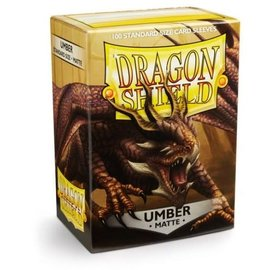 Dragon Shields Dragon Shields: (100) Matte Umber