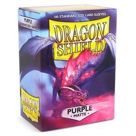 Dragon Shields Dragon Shields: (100) Matte Purple