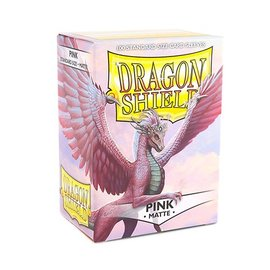 Dragon Shields Dragon Shields: (100) Matte Pink