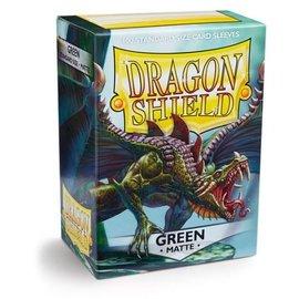 Dragon Shields Dragon Shields: (100) Matte Green