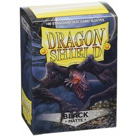 Dragon Shields Dragon Shields: (100) Matte Black