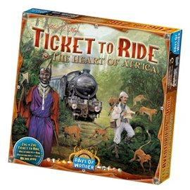 Days of Wonder Ticket to Ride Map Collection: Volume 4 - The Heart of Africa