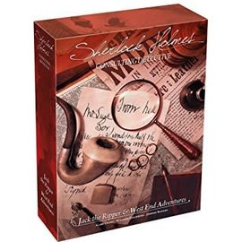 Asmodee Sherlock Holmes: Consulting Detective - Jack the Ripper & West End Adventures