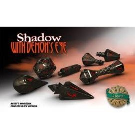 PolyHero Dice PolyHero Dice: Wizard Set - Shadow with Demon's Eye