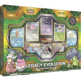 Pokemon International Pokemon TCG: Legacy Evolution Pin Collection