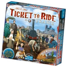 Days of Wonder Ticket to Ride Map Collection: Volume 6 - France and Old West