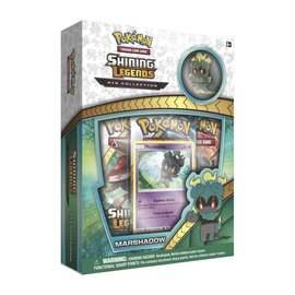 Pokemon International Shining Legends Pin Box - Marshadow