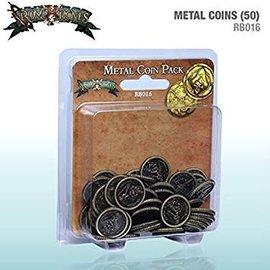 Cool Mini or Not Rum & Bones: Metal Coins