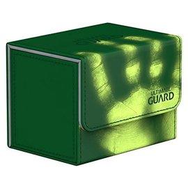 Ultimate Guard Ultimate Guard - Sidewinder Deck Case 100+ Chromiaskin - Green