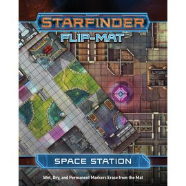 Paizo Starfinder RPG: Flip-Mat - Space Station