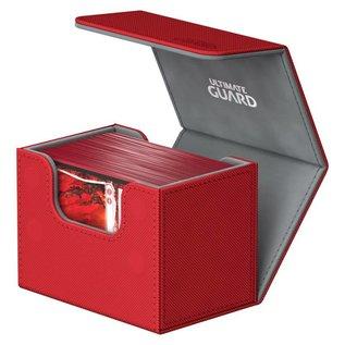 Ultimate Guard Ultimate Guard - Sidewinder Deck Case 80+ Red