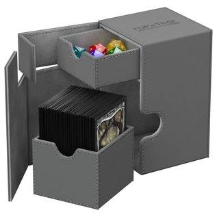 Ultimate Guard Ultimate Guard - Flip'n'Tray Deck Case 100+ Xenoskin - Grey