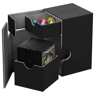 Ultimate Guard Ultimate Guard - Flip'n'Tray Deck Case 100+ Xenoskin - Black